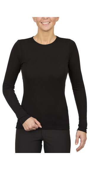 Icebreaker Everyday LS Crewe Women black